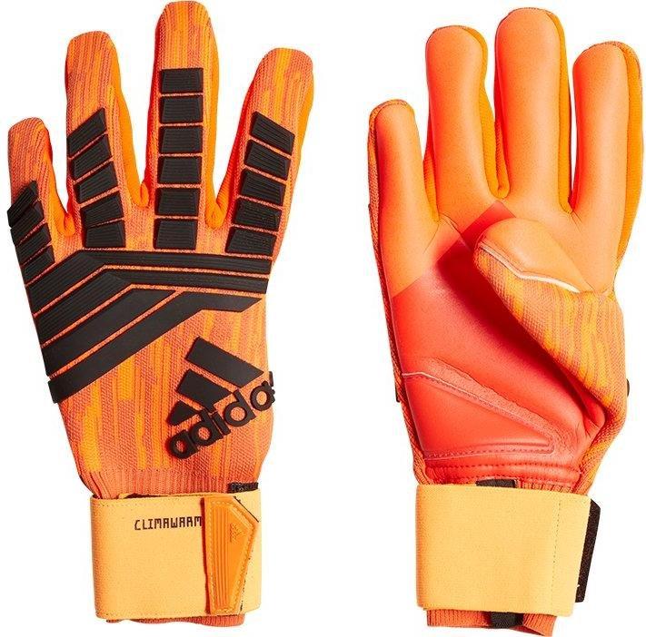 Más bien Pastor incluir  Goalkeeper's gloves adidas predator climawarm tw- - Top4Football.com