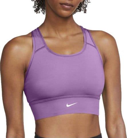 Dámská sportovní podprsenka se střední oporou Nike Dri-FIT Swoosh