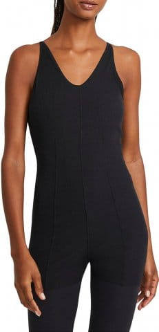 W NY LUXE LAYERD 7/8 JUMPSUIT