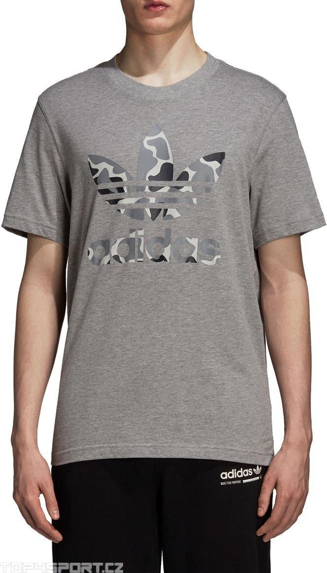 T shirt adidas Originals Camo Trefoil Tee