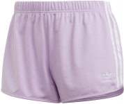 Originals 3 stripes short lila