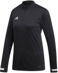 adi team 19 1/4 zip training top