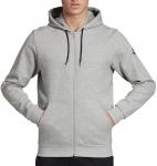 Mikina s kapucí adidas M MH Plain FZ