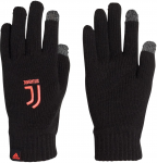 JUVE GLOVES BLACK/TURBO