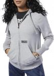 Hooded sweatshirt Reebok RC CF Repeat Full Zip