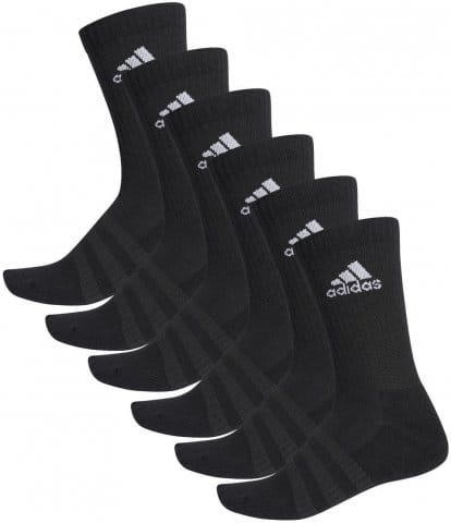 adidas CUSH CRW 6PP BLACK/BLACK/BLACK/BL Zoknik