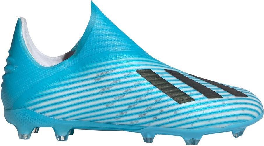 Dětské beztkaničkové kopačky adidas X 19+ FG