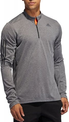 OWN THE RUN 1/2 ZIP LS TEE