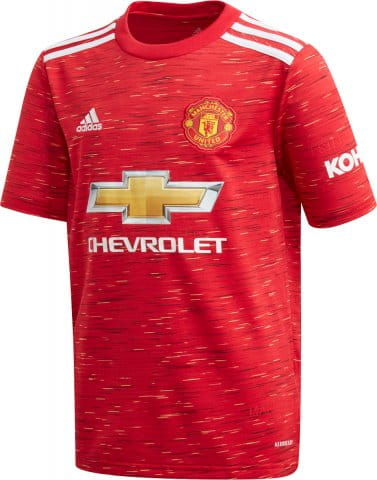 MUFC HOME SS JSY Y 2020/21