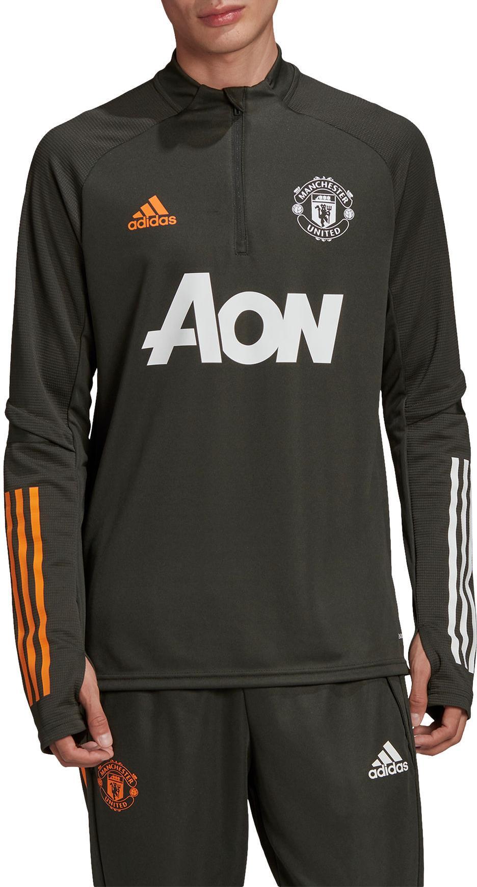 T Shirt Adidas 20 21 Manchester United Training Top Top4football Com