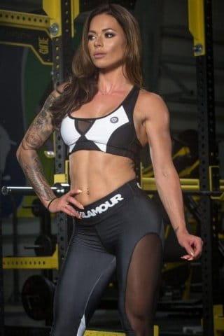 Gym Glamour Black&White