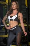 Gym Glamour Podprsenka Black&White