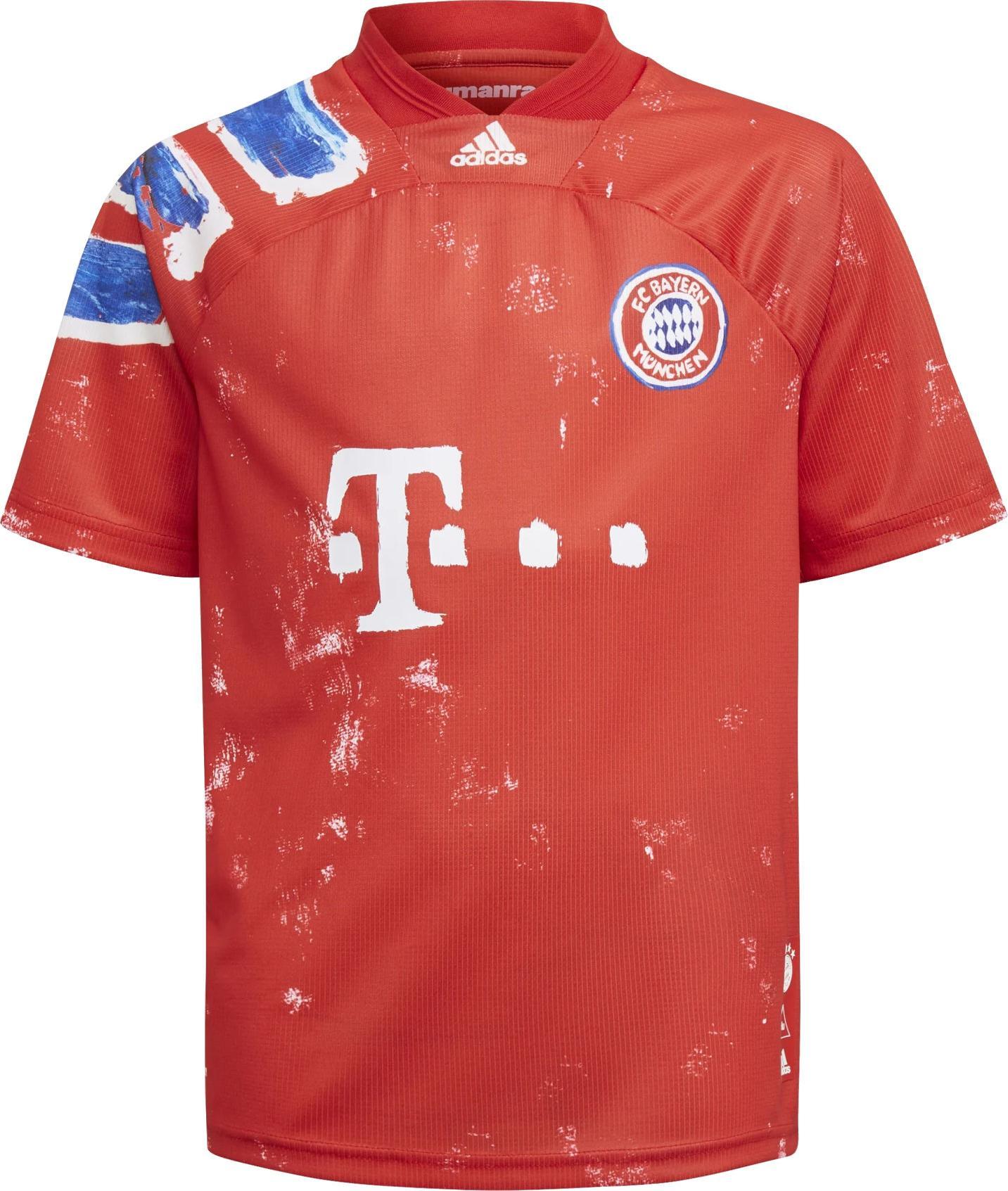 Shirt adidas FC BAYERN HUMAN RACE JERSEY YOUTH - Top4Football.com