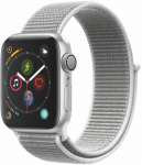 Watch Apple Apple Watch Series 4 GPS, 40mm Silver Aluminium Case with Seashell Sport Loop