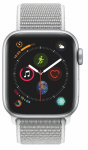 Watch Apple Apple Watch Series 4 GPS, 40mm Silver Aluminium Case with Seashell Sport Loop