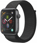Watch Apple Apple Watch Series 4 GPS, 44mm Space Grey Aluminium Case with Black Sport Loop