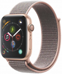 Ceas Apple Apple Watch Series 4 GPS, 44mm Gold Aluminium Case with Pink Sand Sport Loop