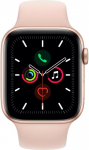 Apple Watch Series 5   GPS, 44mm Gold Aluminium Case with Pink Sand