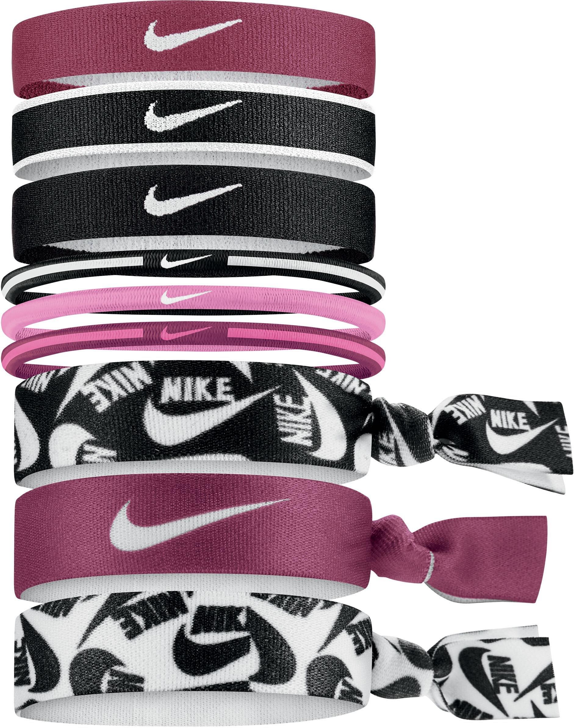 Balení gumiček do vlasů Nike Mixed Ponytail Holders (9 kusů)