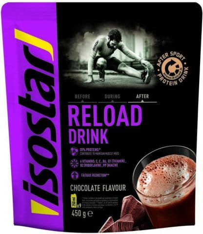 Isostar 450g POWDER SPORT RELOAD DRINK (DOY PACK)