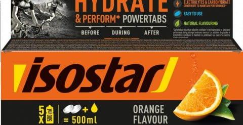 Isostar 120g POWERTABS