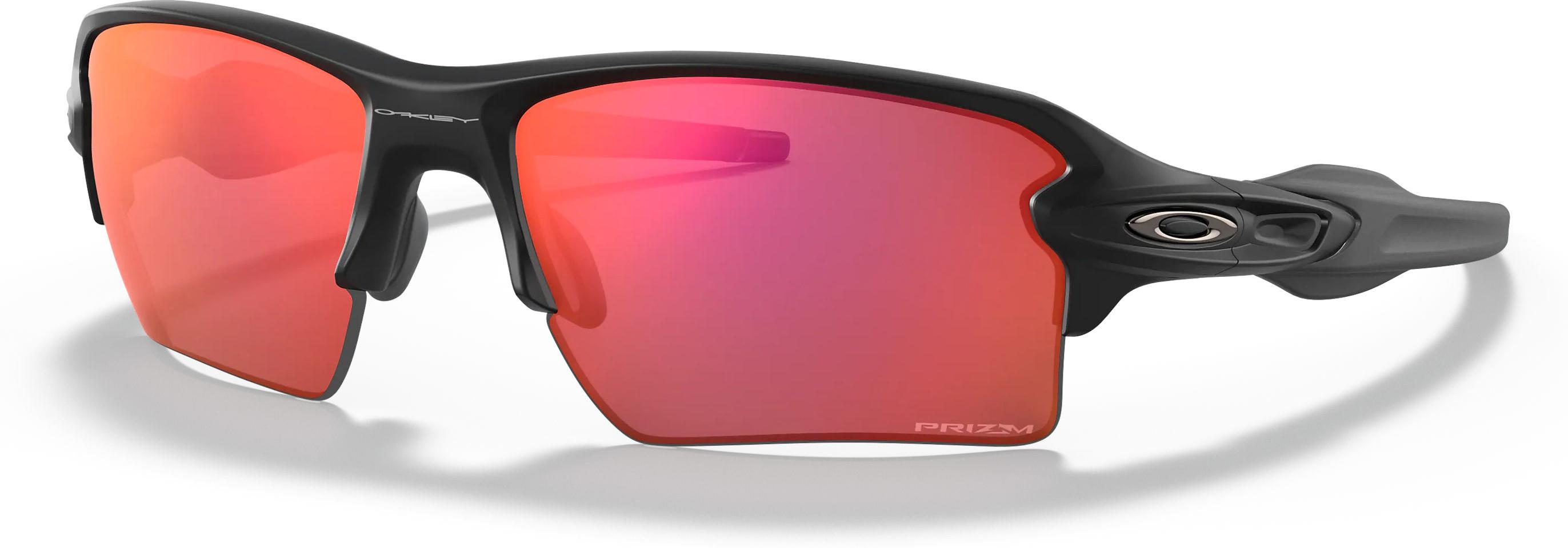 Sunglasses Oakley Flak 2.0 XL MttBlk w/ PRIZM Trail Torch - Top4Running.com