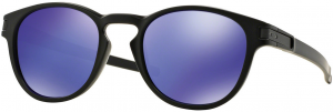 OAKLEY Latch Matte Black w/ Violet Iridium