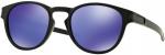 Sluneční brýle Oakley OAKLEY Latch Matte Black w/ Violet Iridium
