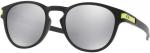 Sluneční brýle Oakley OAKLEY Latch VR/46 Mtt Blk w/ Chrome Irid