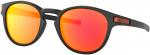 Sluneční brýle Oakley OAKLEY Latch Matte Black w/ PRIZM Ruby