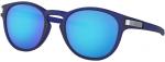 Sluneční brýle Oakley OAKLEY Latch Grid MttTrnsBlue w/ PRIZM Sapph