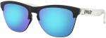 Sluneční brýle Oakley OAKLEY Frogskins Lite MtBlk/MtClr w/ PRIZM Spph