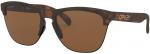 Sluneční brýle Oakley OAKLEY Frogskins Lite MtBrwnTort w/ PRIZMTngstn