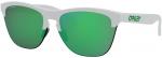 Sluneční brýle Oakley OAKLEY Frogskins Lite Mtt White w/ PRIZM Jade