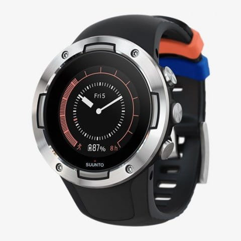 SUUNTO 5 G1 BLACK STEEL KAV