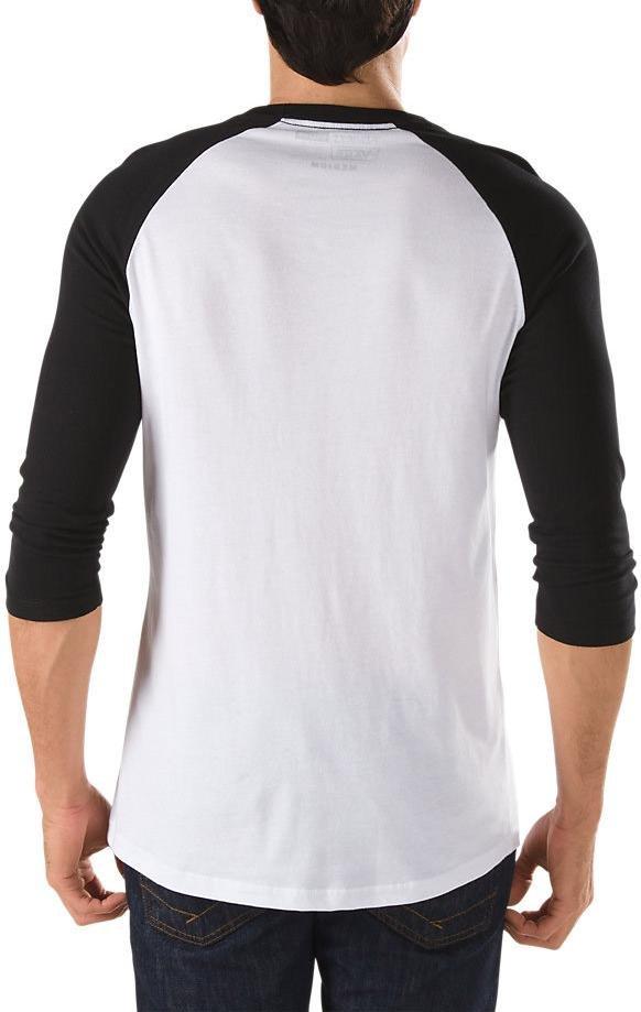 vans otw raglan t-shirt homme
